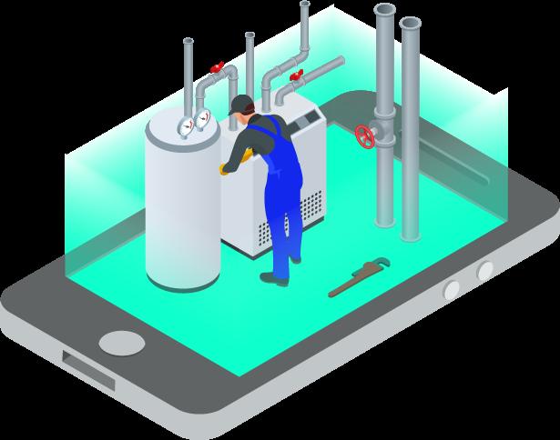 Smartphone-technicien